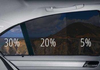 Auto stiklu tonēšana